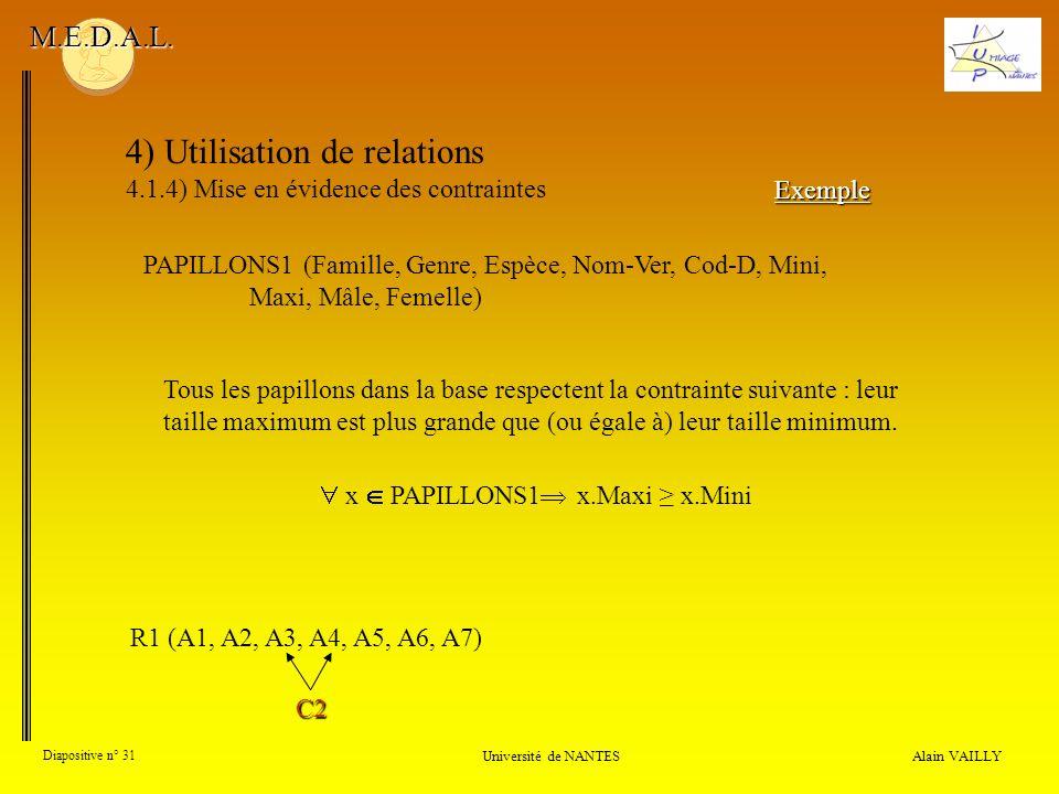  x  PAPILLONS1 x.Maxi ≥ x.Mini