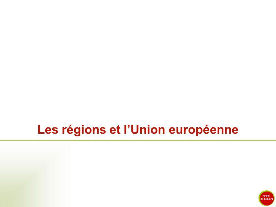 Les régions et l'Union européenne