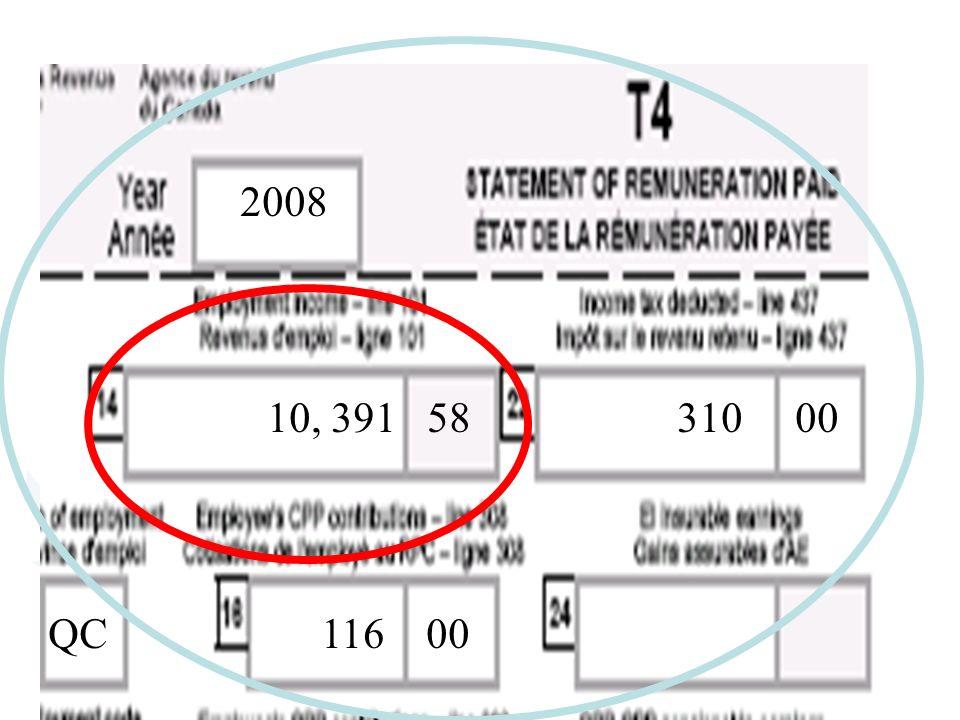 2008 10, 391 58 310 00 QC 116 00