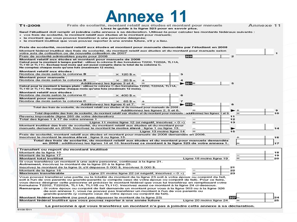 Annexe 11