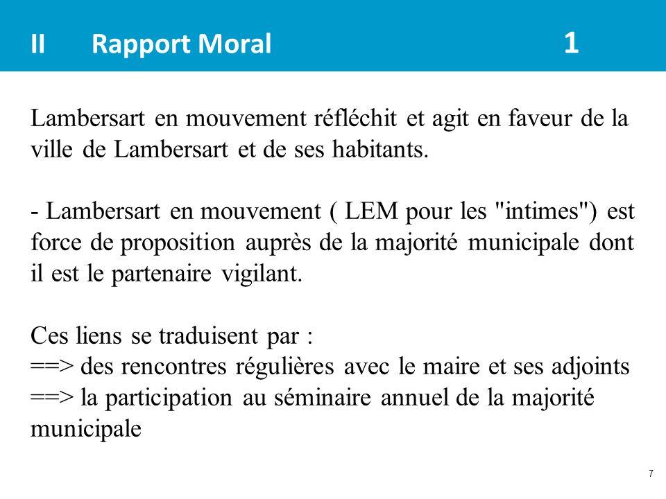 II Rapport Moral 1
