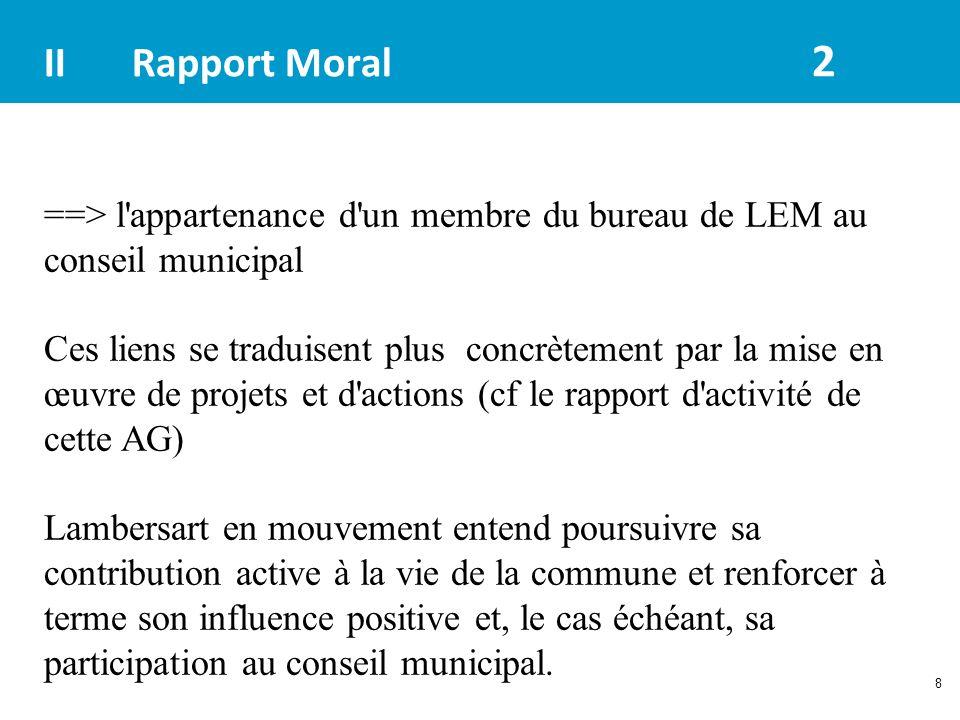 II Rapport Moral 2