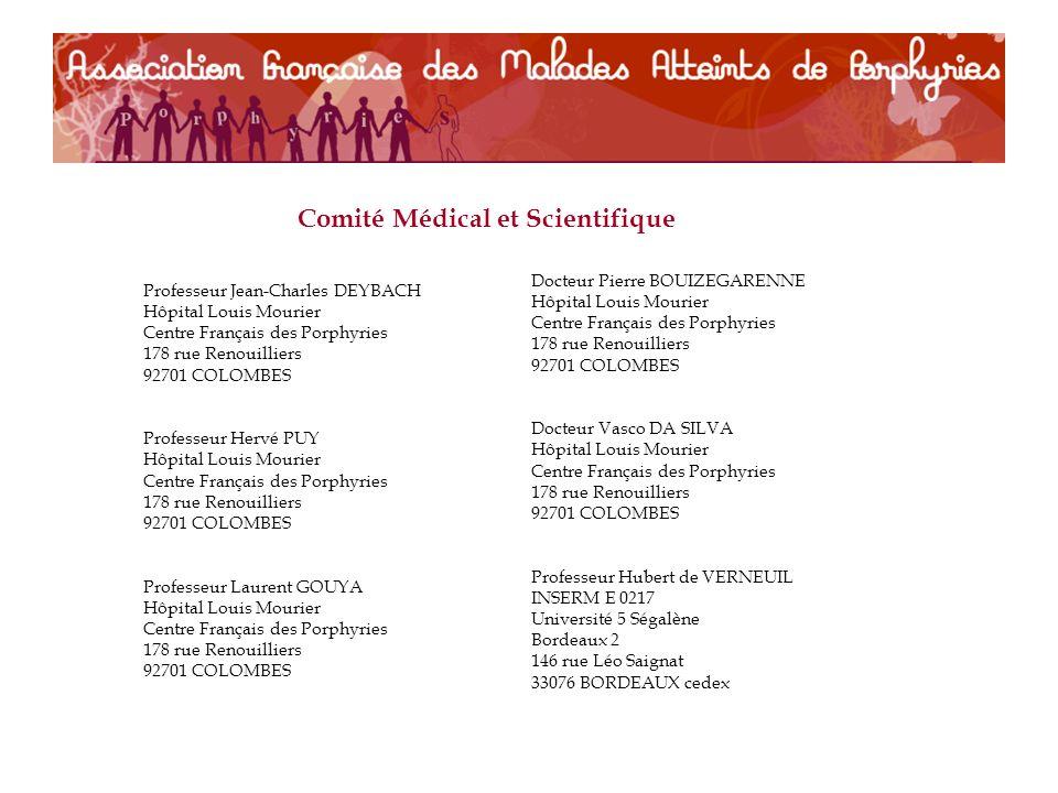 Comité Médical et Scientifique