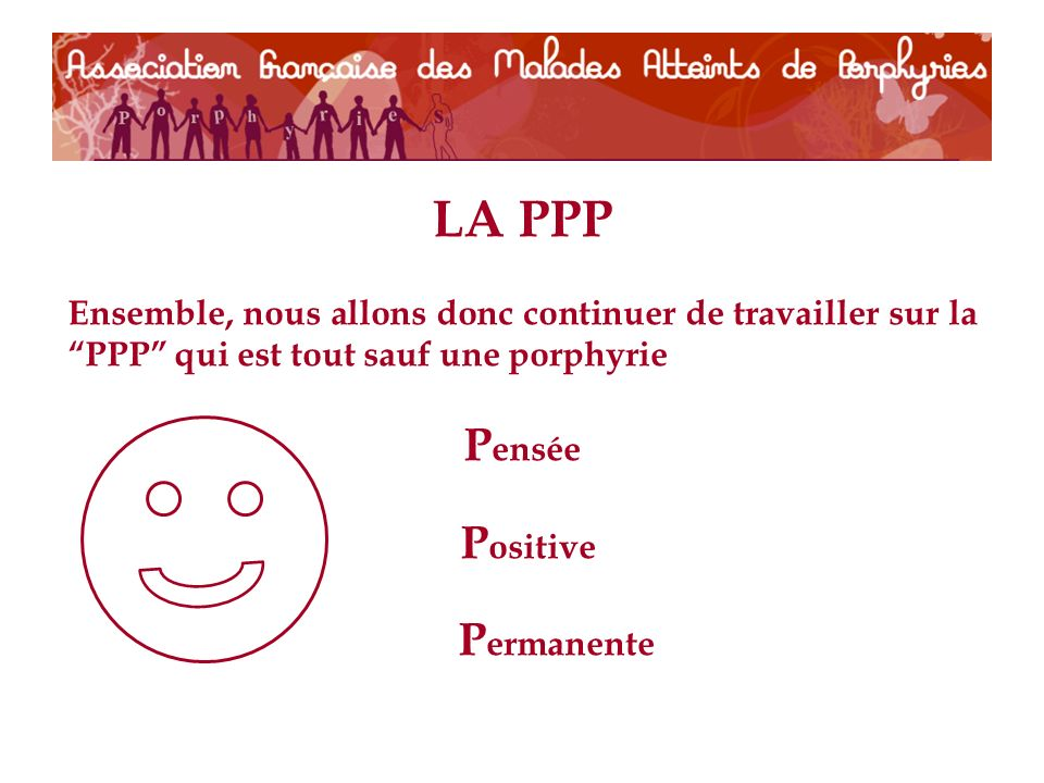 LA PPP Pensée Positive Permanente