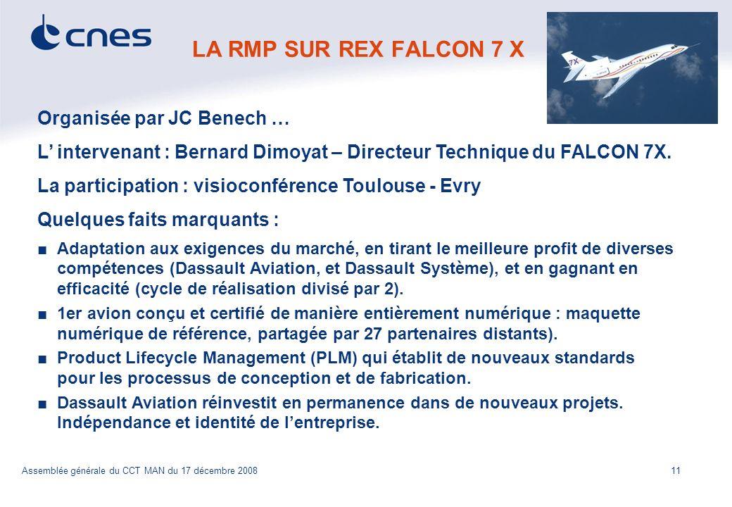 LA RMP SUR REX FALCON 7 X Organisée par JC Benech …