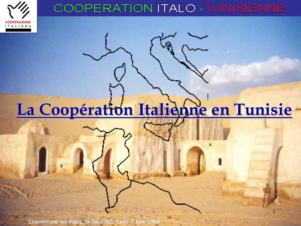 La Coopération Italienne en Tunisie