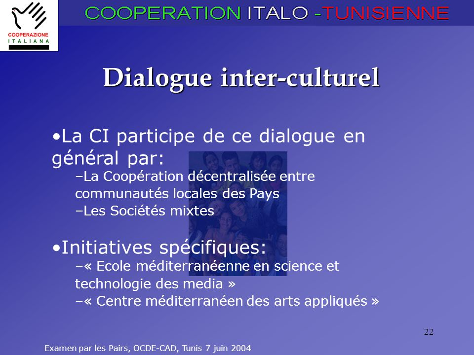 Dialogue inter-culturel