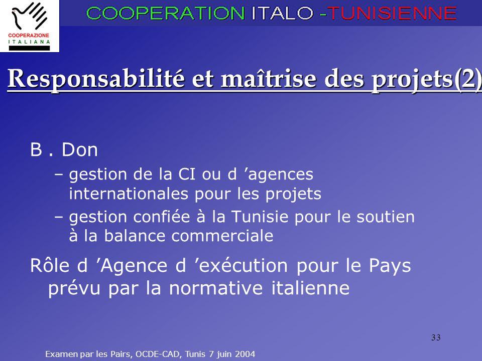 Responsabilité et maîtrise des projets(2)