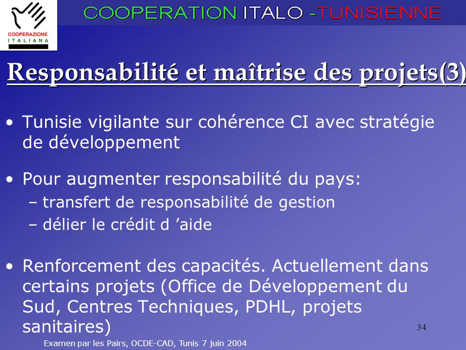 Responsabilité et maîtrise des projets(3)