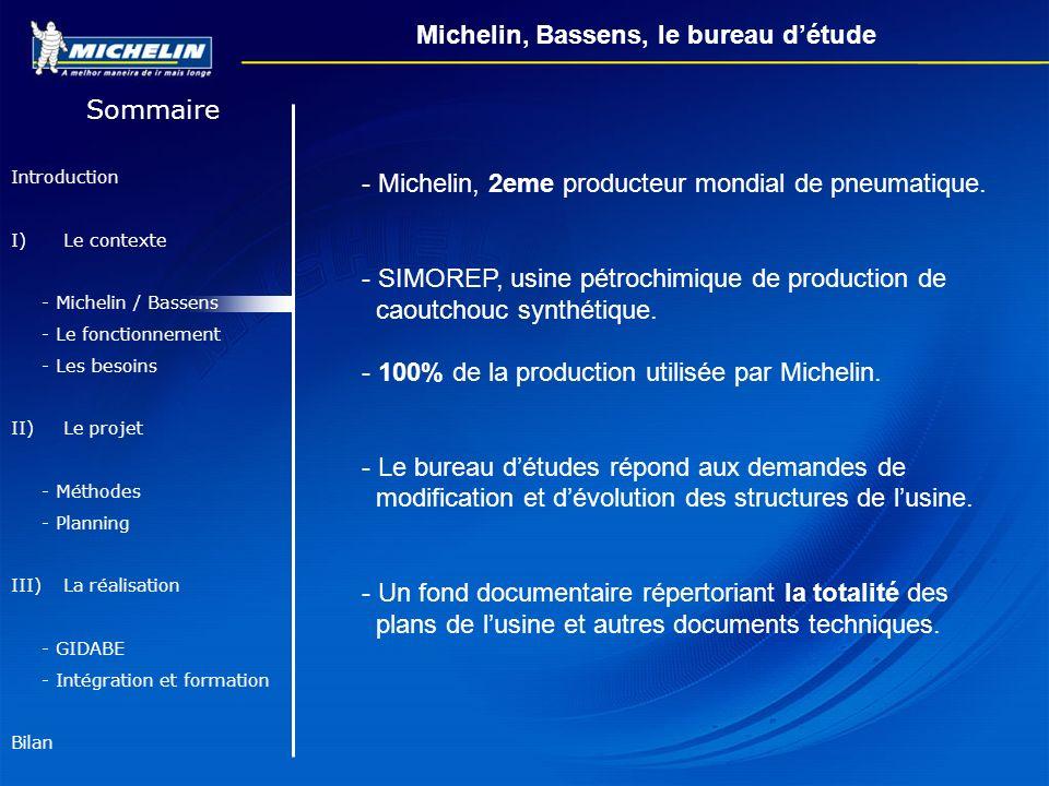 Michelin, Bassens, le bureau d'étude