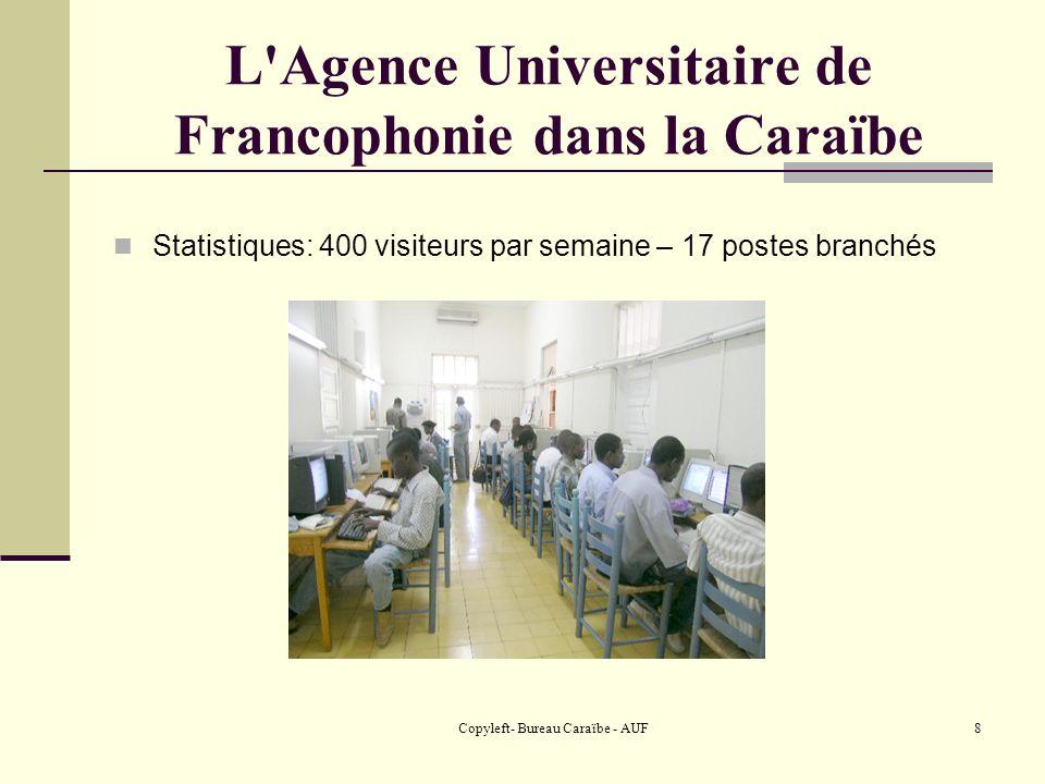 L Agence Universitaire de Francophonie dans la Caraïbe