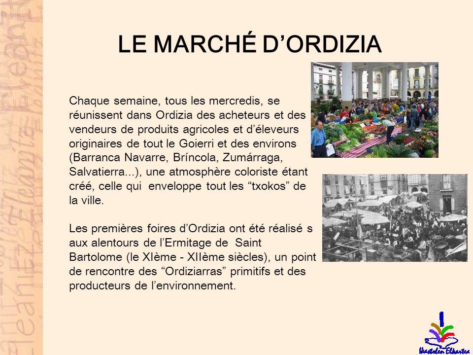 LE MARCHÉ D'ORDIZIA