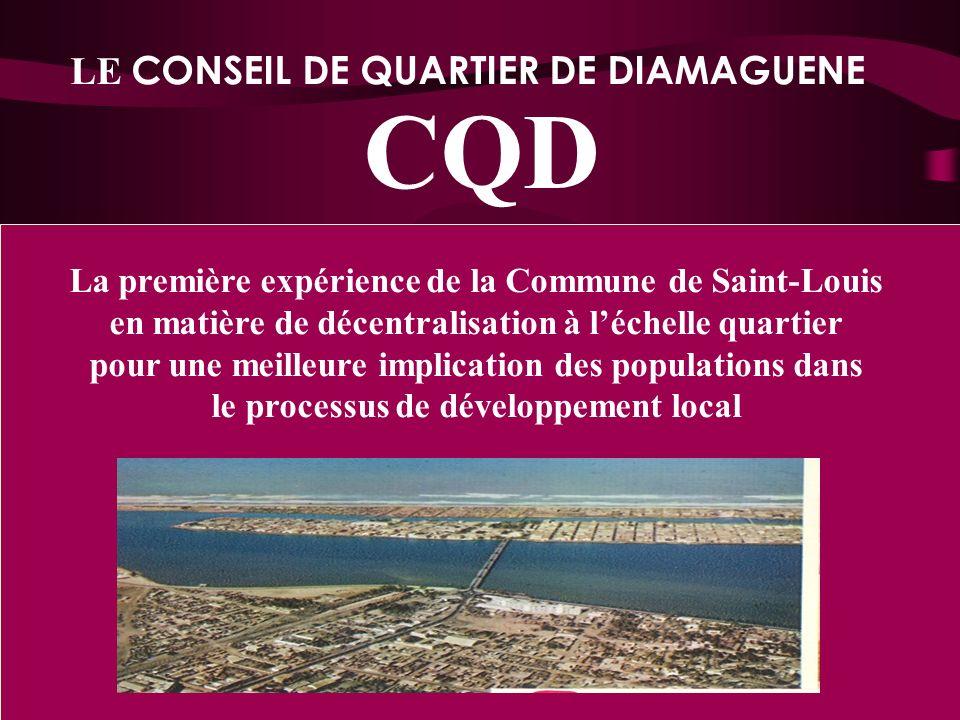 CQD LE CONSEIL DE QUARTIER DE DIAMAGUENE