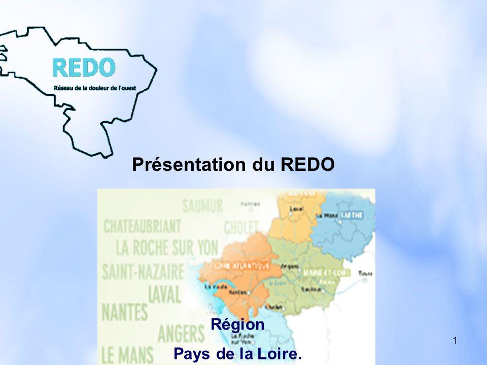Présentation du REDO Région Pays de la Loire.