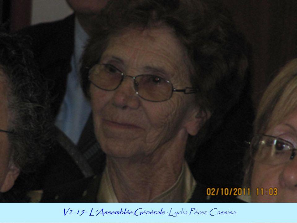 V2-15– L'Assemblée Générale : Lydia Pérez-Cassisa
