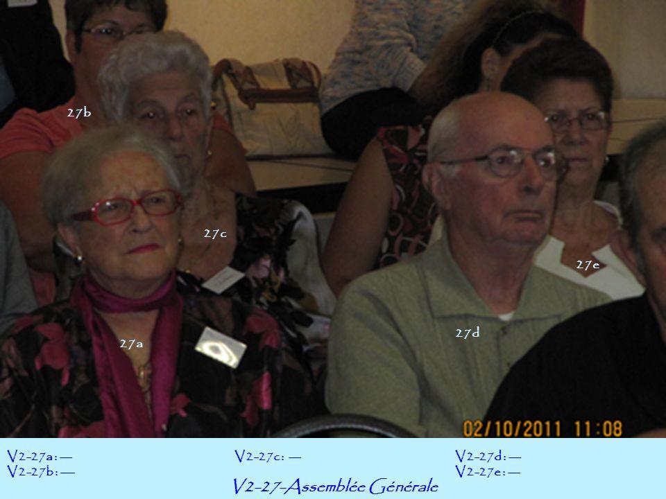 V2-27-Assemblée Générale