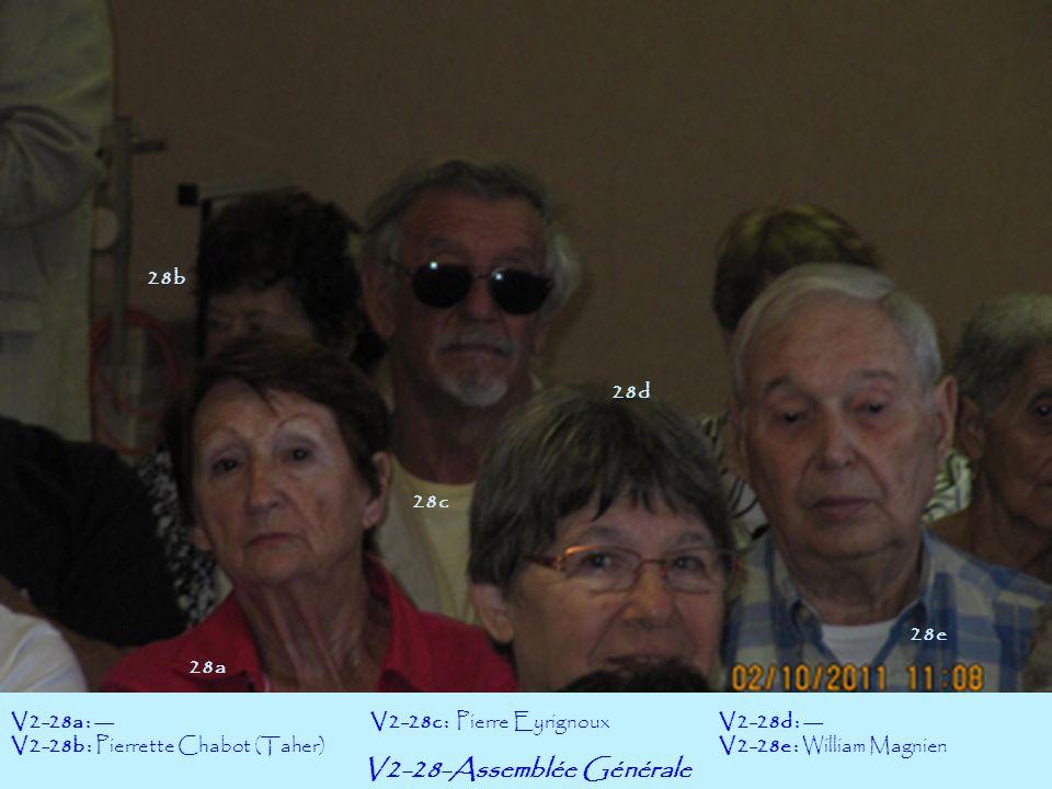 V2-28-Assemblée Générale