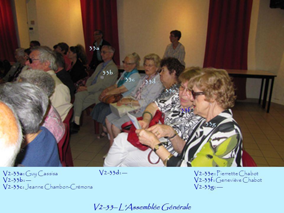 V2-33– L'Assemblée Générale
