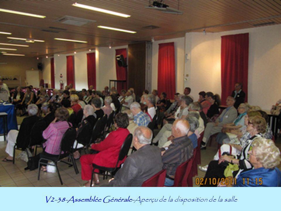 V2-38-Assemblée Générale-Aperçu de la disposition de la salle