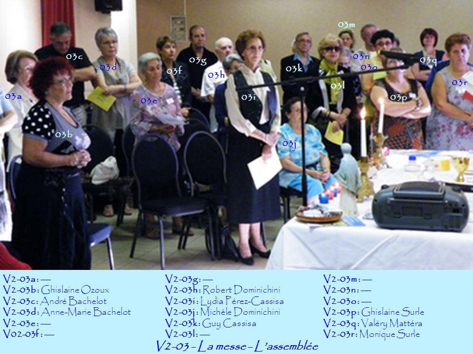 V2-03 - La messe - L'assemblée