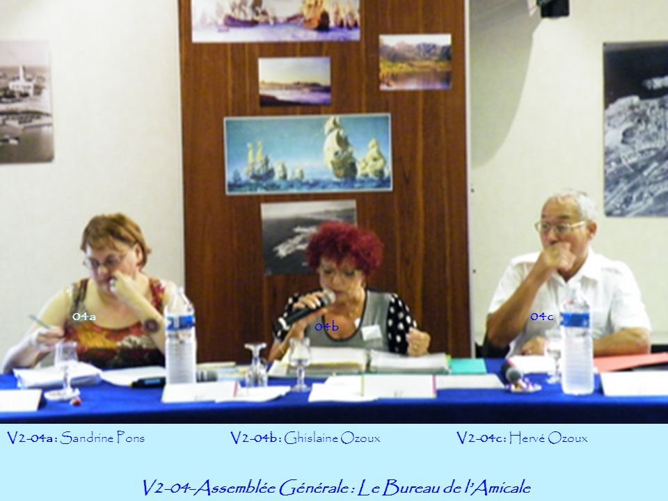 V2-04-Assemblée Générale : Le Bureau de l'Amicale