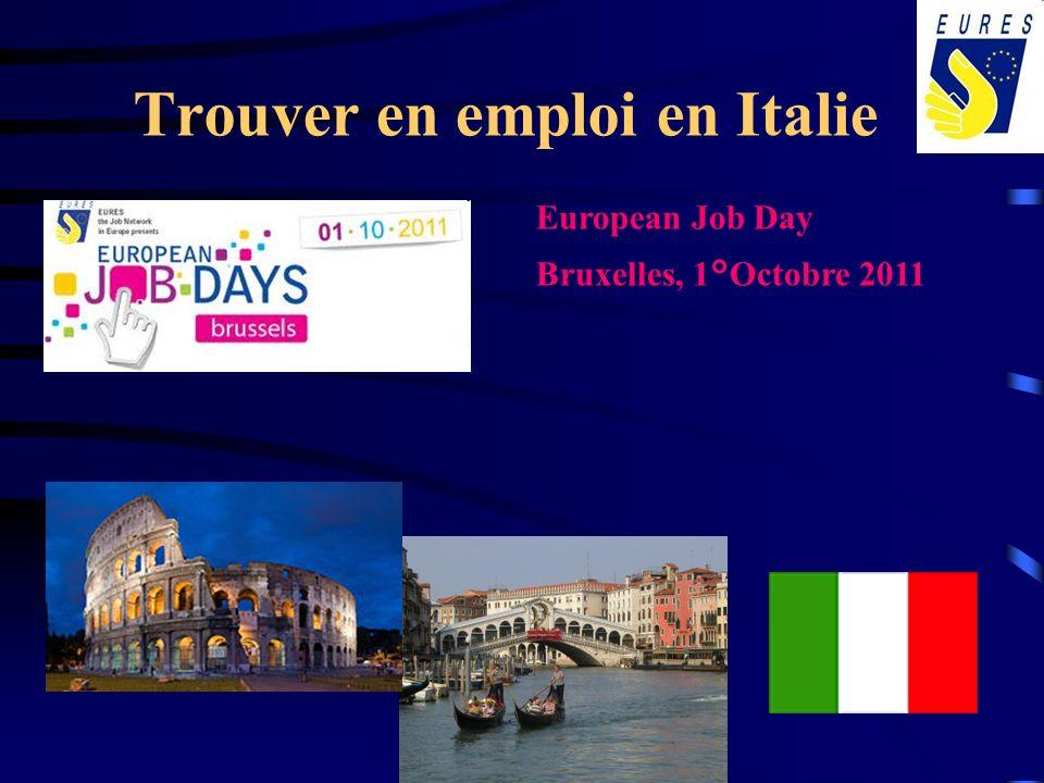 Trouver en emploi en Italie
