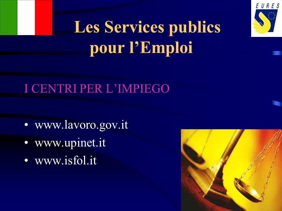 Les Services publics pour l'Emploi