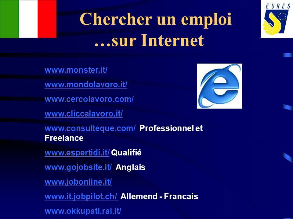 Chercher un emploi …sur Internet