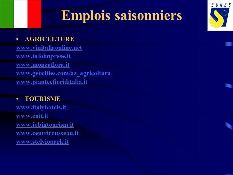 Emplois saisonniers AGRICULTURE www.vinitaliaonline.net