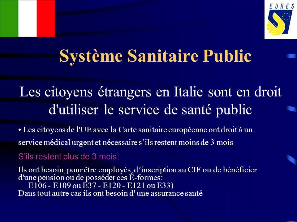 Système Sanitaire Public