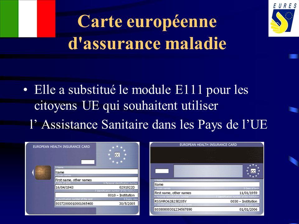 Carte européenne d assurance maladie