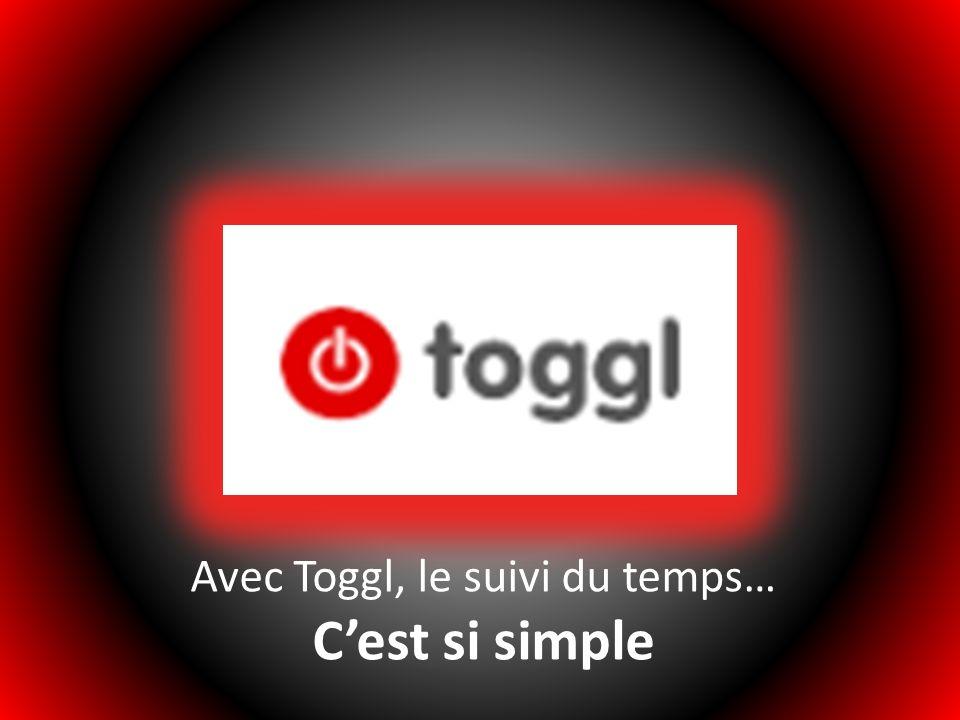 Avec Toggl, le suivi du temps…