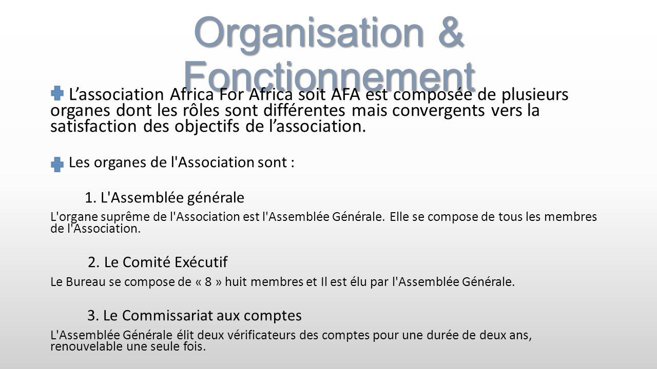 Organisation & Fonctionnement