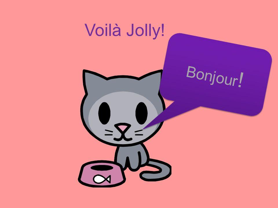 Voilà Jolly! Bonjour!