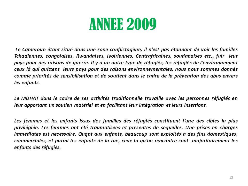 ANNEE 2009