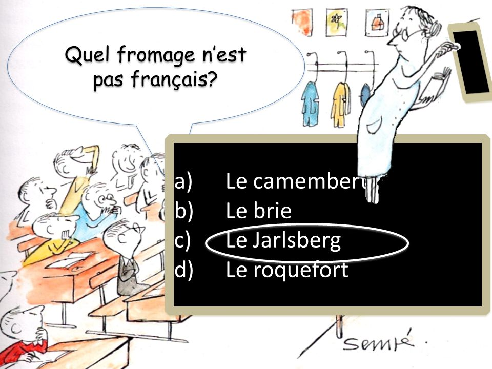 Quel fromage n'est pas français