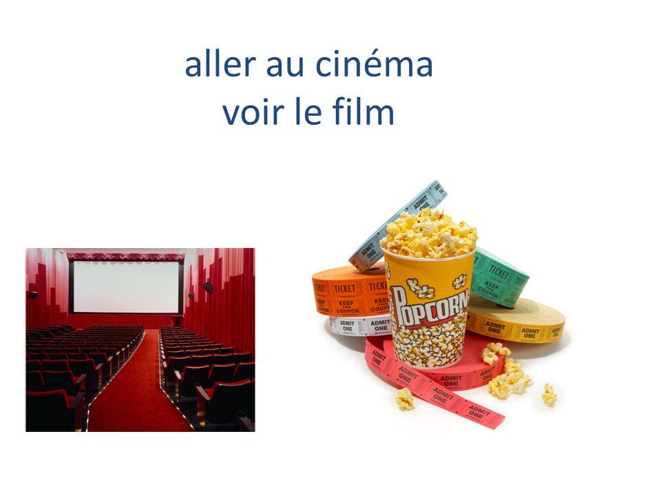 aller au cinéma voir le film