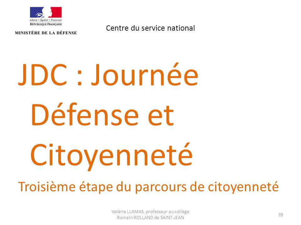 Centre du service national