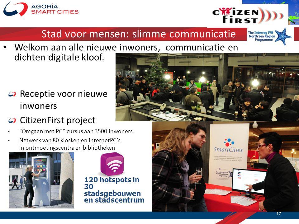 Stad voor mensen: slimme communicatie