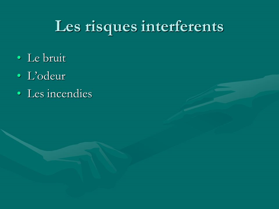 Les risques interferents