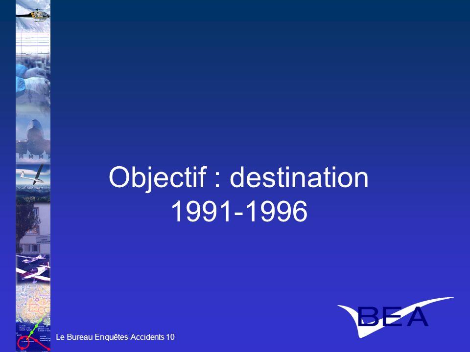Objectif : destination 1991-1996