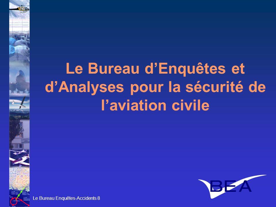 Le Bureau d'Enquêtes et d'Analyses pour la sécurité de l'aviation civile