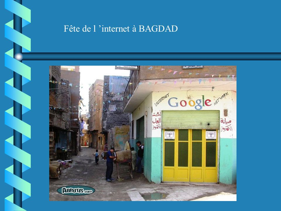 Fête de l 'internet à BAGDAD