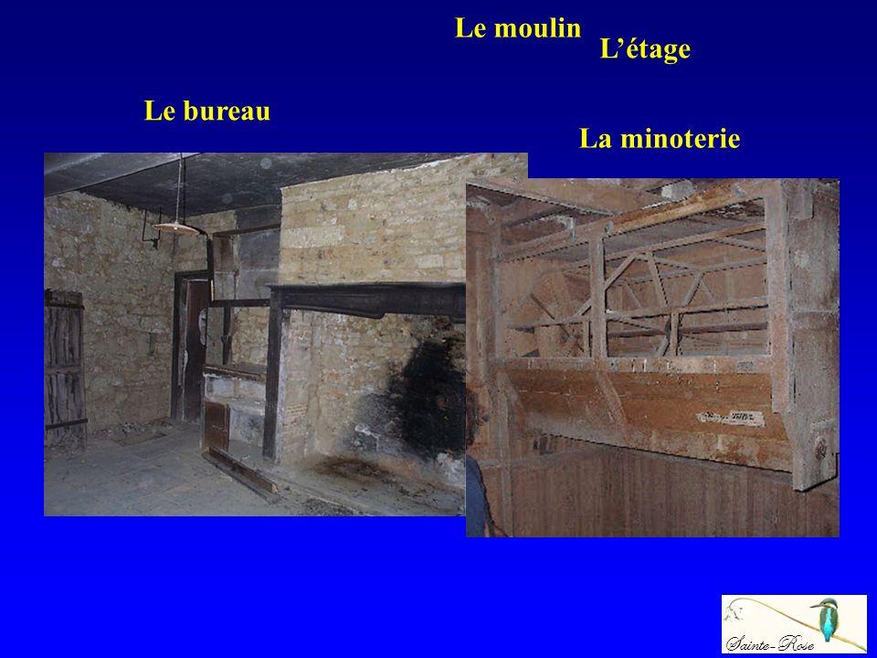 Le moulin L'étage Le bureau La minoterie Sainte-Rose
