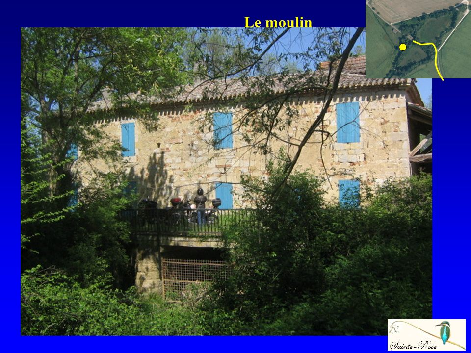 Le moulin Sainte-Rose