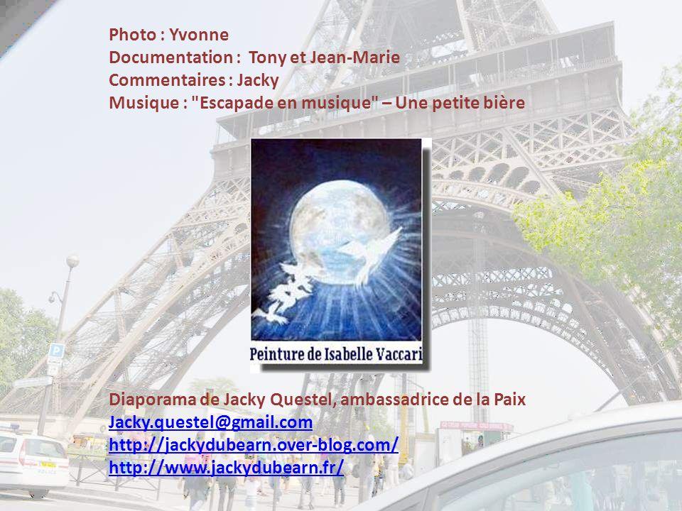 Photo : Yvonne Documentation : Tony et Jean-Marie. Commentaires : Jacky. Musique : Escapade en musique – Une petite bière.
