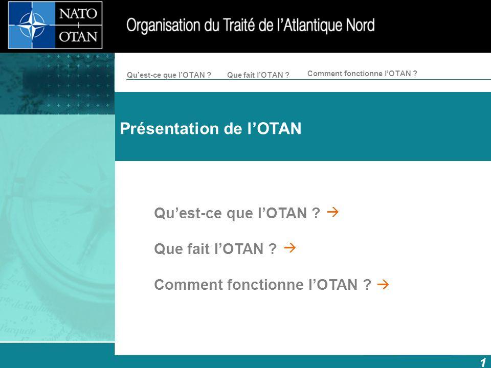 Présentation de l'OTAN