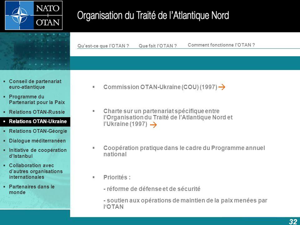 Commission OTAN-Ukraine (COU) (1997)