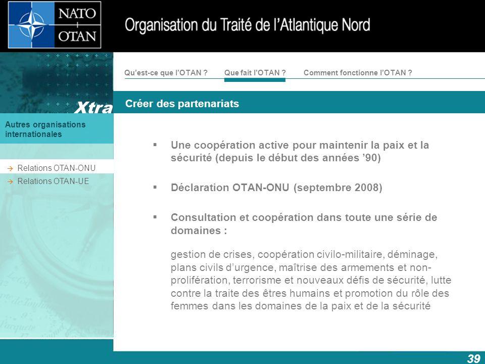 Déclaration OTAN-ONU (septembre 2008)