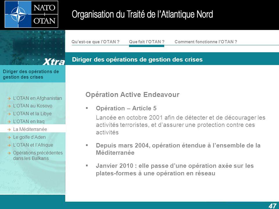 Opération Active Endeavour